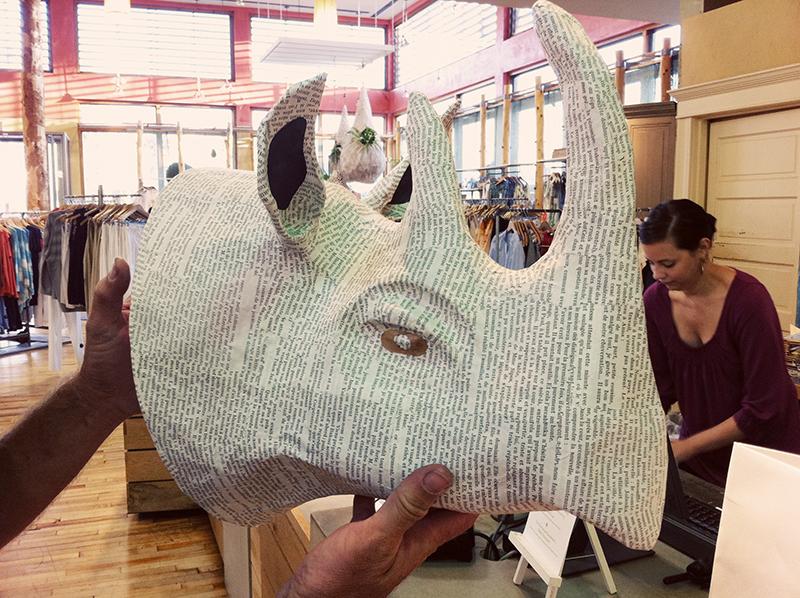 Rhino head web