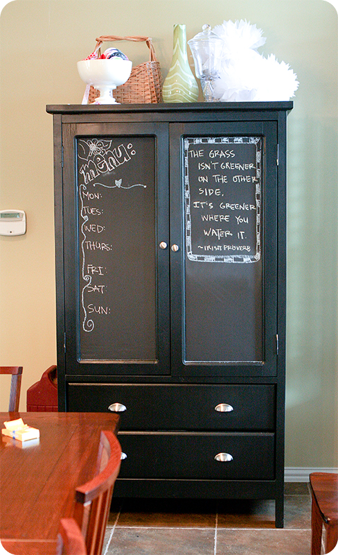 Armoire after web